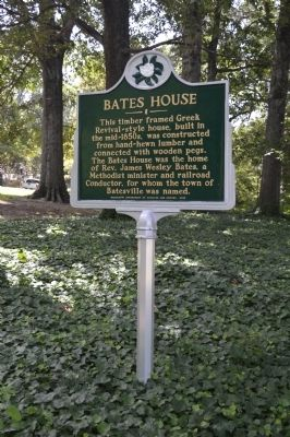 Bates House Marker image. Click for full size.