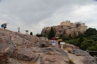 Areopagus Hill Marker image. Click for full size.