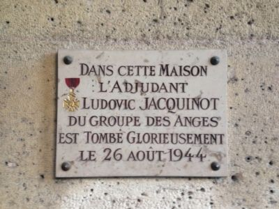 Ludovic Jacquinot Marker image. Click for full size.