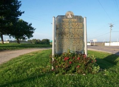 Warrensburg Marker image. Click for full size.