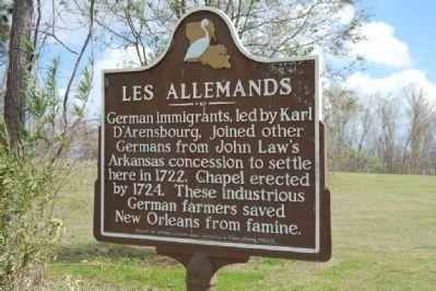 Les Allemands Marker image. Click for full size.
