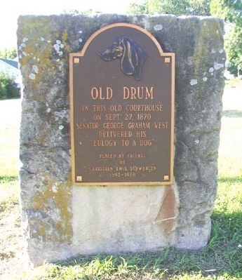 Old Drum Marker image. Click for full size.