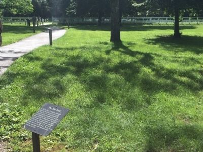 Wide view of The War Road Marker image. Click for full size.