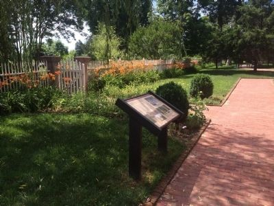 Wide view of The Hermitage Garden Marker image. Click for full size.