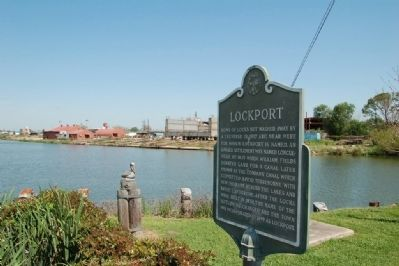 Lockport Marker image. Click for full size.