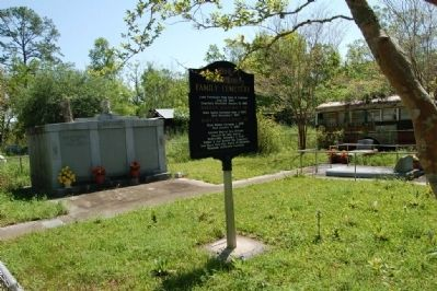 1860 Schaubhut Family Cemetery and Marker image. Click for full size.