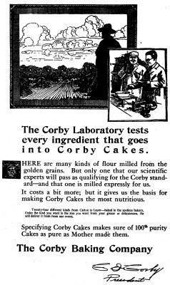 The Corby Laboratory tests every ingredient that goes into Corby Cakes. image. Click for full size.