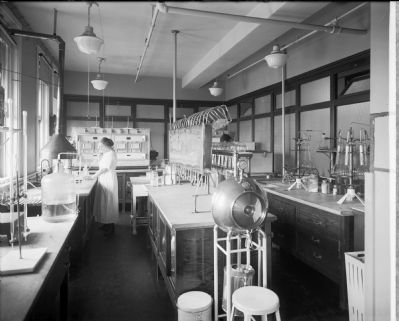 Corby Bread Laboratory image. Click for full size.