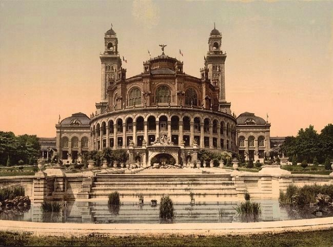 <i>The Trocadero, Exposition Universelle, 1900, Paris, France</i> image. Click for full size.