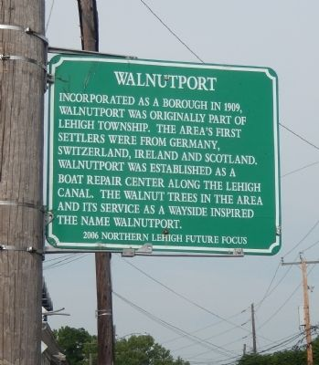 Walnutport Marker image. Click for full size.