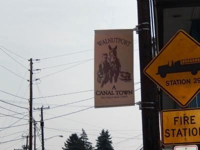 Walnutport -A Canal Town Incorporated 1909-Banner image. Click for full size.