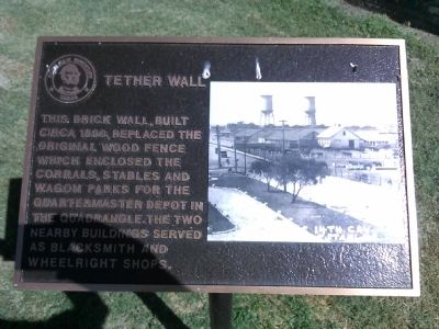 Tether Wall Marker image. Click for full size.