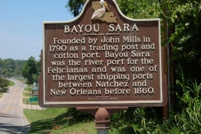 Bayou Sara Marker image. Click for full size.