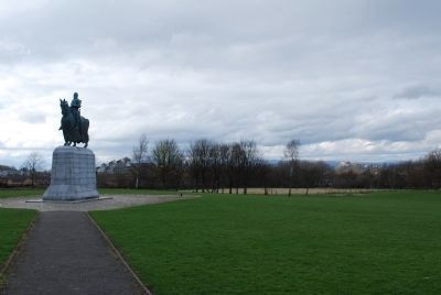 Robert the Bruce Monument image. Click for full size.