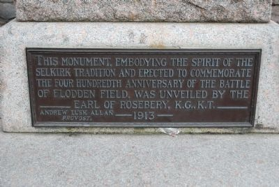 The Fletcher Monument Marker image. Click for full size.