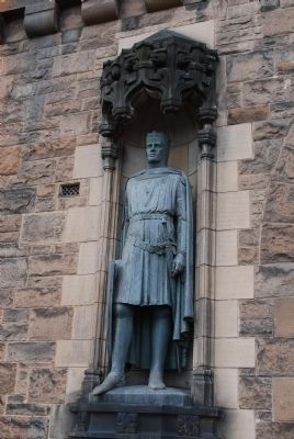 Memorial to Robert the Bruce Statue image. Click for full size.