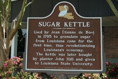 Sugar Kettle Marker image. Click for full size.