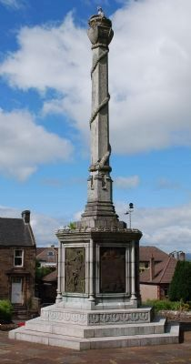 William Wallace Birthplace Monument image. Click for full size.