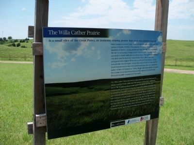 Willa Cather Prairie image. Click for full size.