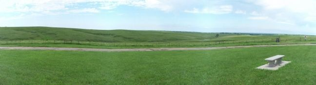 Willa Cather Memorial Prairie image. Click for full size.