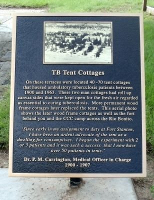 TB Tent Cottages Marker image. Click for full size.