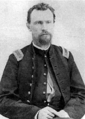 Brevet Major LAWRENCE GUSTAVE MURPHY, 1st New Mexico Cavalry, Post Commander of Ft Stanton 1866 image. Click for full size.