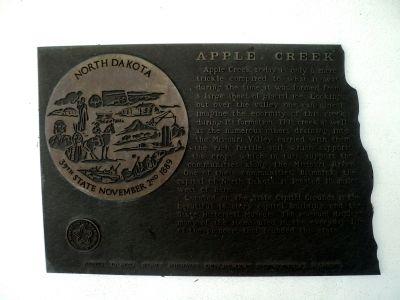 Apple Creek Marker image. Click for full size.