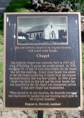 Chapel Marker image. Click for full size.