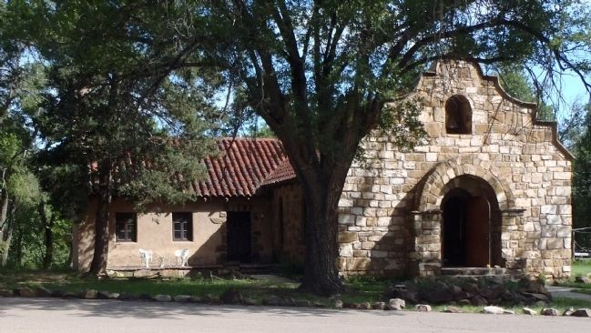 Fort Stanton Chapel image. Click for full size.