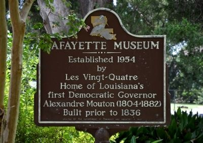 Lafayette Museum Marker image. Click for full size.
