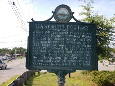 Hampshire Pottery Marker image. Click for full size.