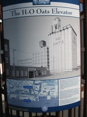 The H-O Oats Elevator Marker image. Click for full size.