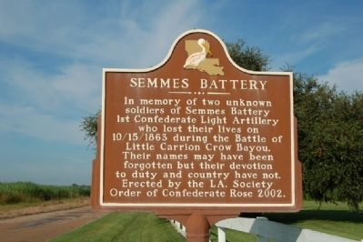 Semmes Battery Marker image. Click for full size.