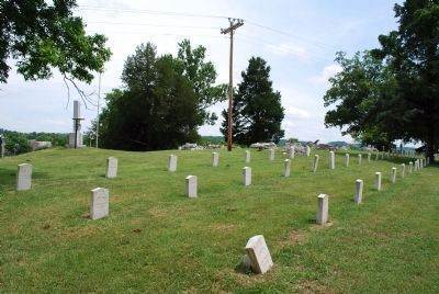 Confederate Cemetery image. Click for full size.