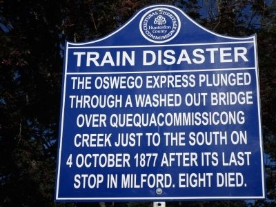 Train Disaster Marker image. Click for full size.