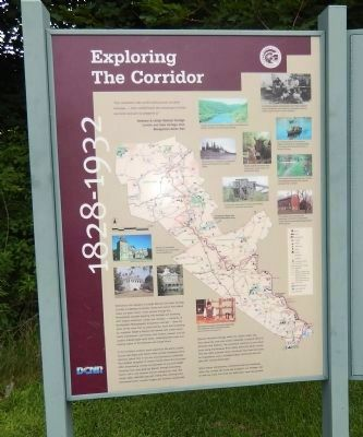 "Adjacent ""Exploring the Corridor"" Informational sign image. Click for full size."
