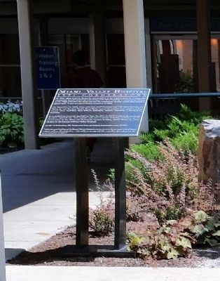 Miami Valley Hospital Marker image. Click for full size.
