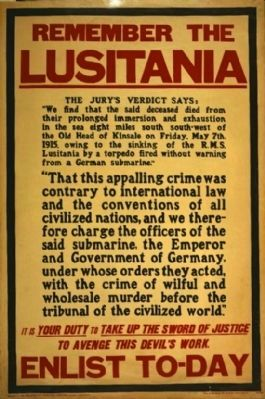 <i>Remember the Lusitania…</i> image. Click for full size.