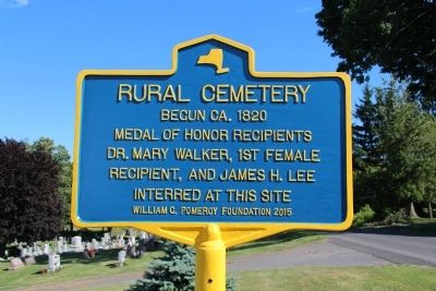 Rural Cemetery Marker image. Click for full size.