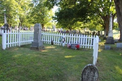 Site of Doctor Mary Walker's grave image. Click for full size.