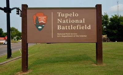 Tupelo National Battlefield Sign Photo, Click for full size