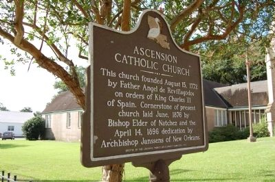 Ascension Catholic Church Marker image. Click for full size.