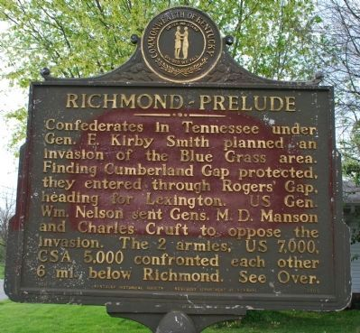 Richmond- Prelude (side of the marker) image. Click for full size.