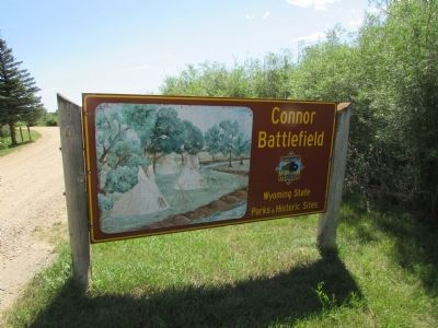 Connor Battlefield State Historic Site image. Click for full size.