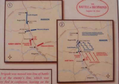 Battle of Richmond Marker image. Click for full size.