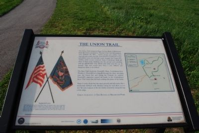 The Union Trail Marker image. Click for full size.