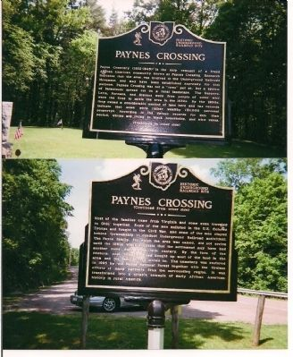 Historic Underground Railroad Site Marker image, Click for more information