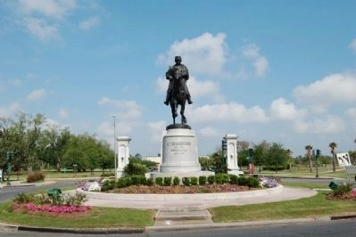 General Beauregard Equestrian Statue image. Click for full size.