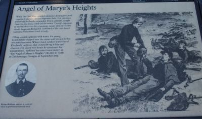 Angel of Marye's Heights Marker image. Click for full size.