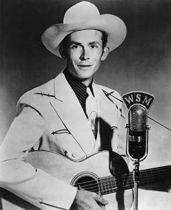 Hank Williams Sr. promotional photo image. Click for full size.